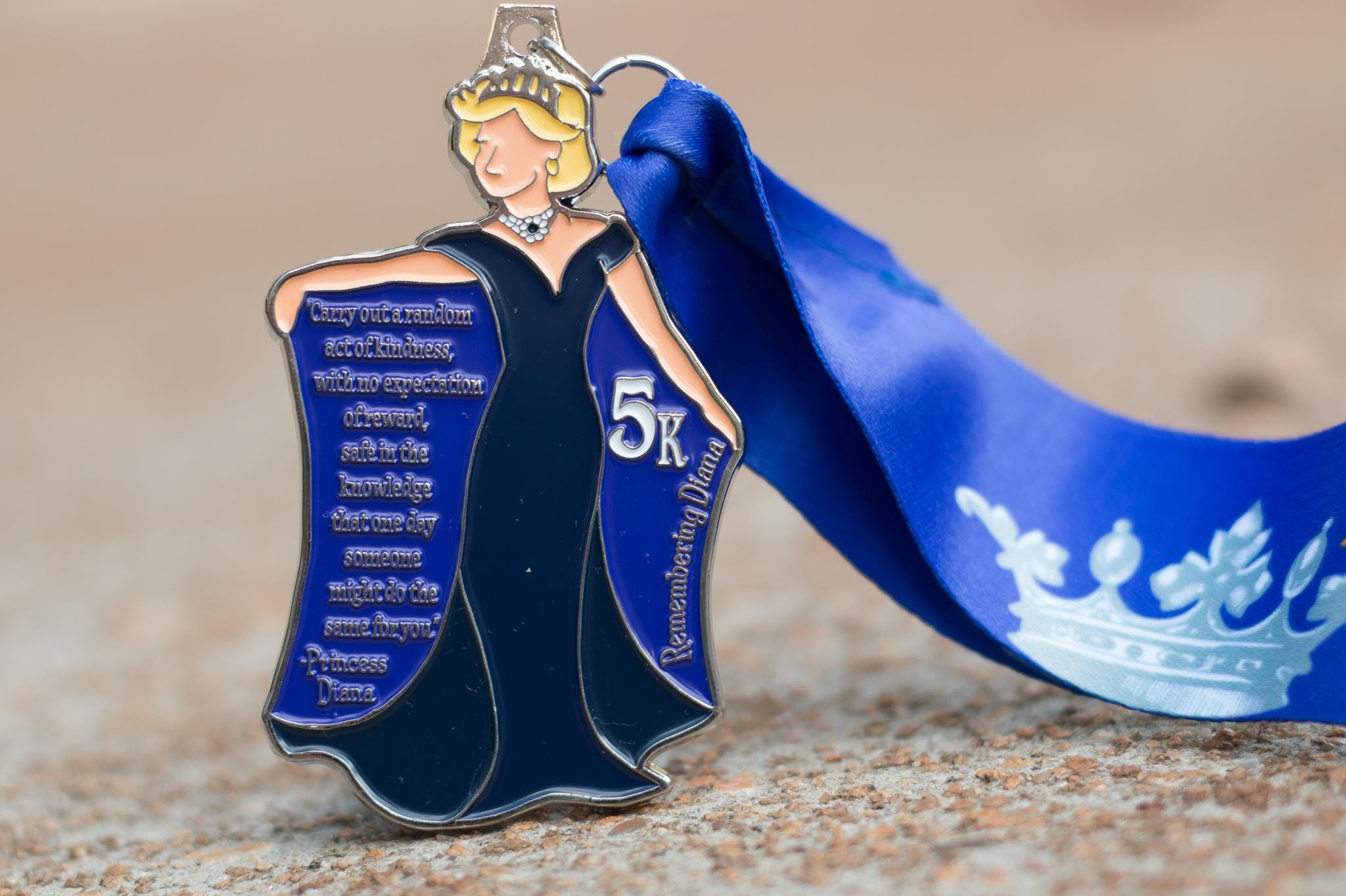 Now Only $8.00! Make a Difference Day 5K- Remembering Princess Diana- Flint
