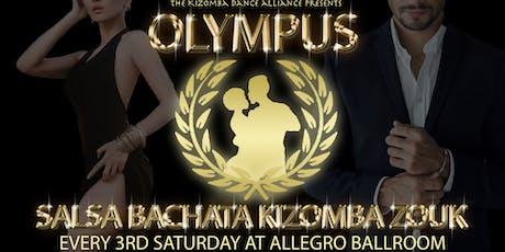 Olympus: Salsa, Bachata, Kizomba, Zouk tickets