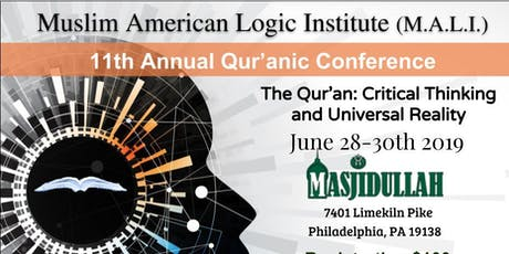 M.A.L.I. 11th Annual Qur'anic Conference 2019 tickets