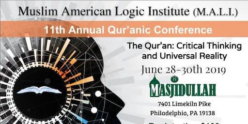 M.A.L.I. 11th Annual Qur'anic Conference 2019