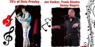 Tribute Concert Elvis@ Joe Cocker, Frank Sinatra,Kenny Rogers