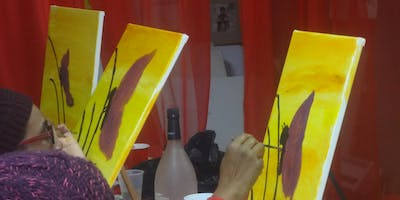 Queens, NY ----Sip & Paint To Live Poetry    OPEN MIC NIGHTS     3rd Fridays - Paint, Poetry & Vibe!