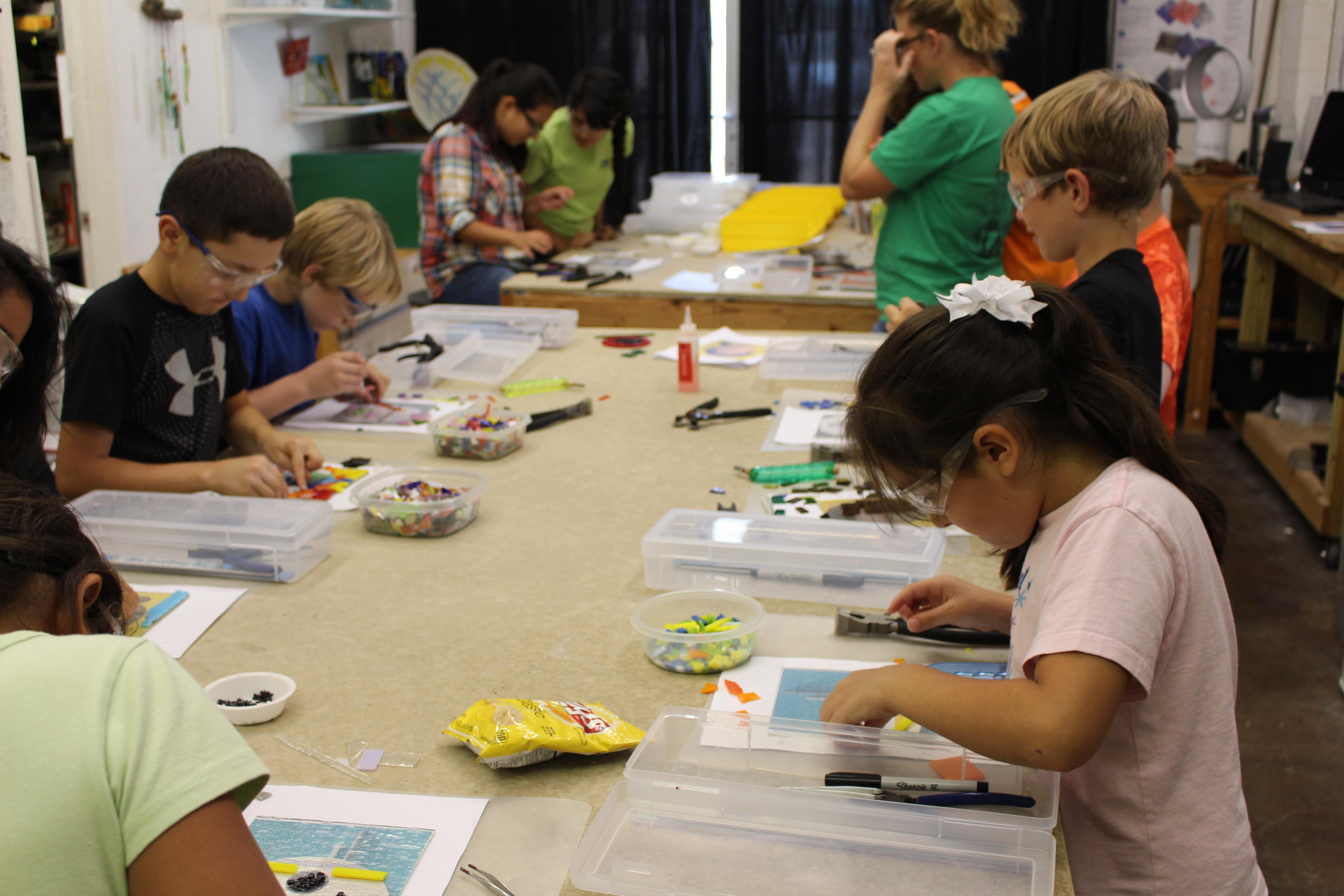 Kid's Connect2Glass Workshop | 2019