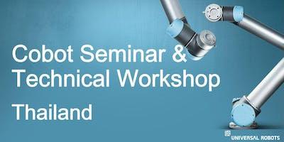 Cobot Seminar & Technical Workshop - Thailand, 26