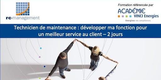 """CARLING / Formation """"Technicien de Maintenance: développer ma fonction pour un meilleur service au client"""" (VINCI Energies), 25 et 26 juin 2019"""