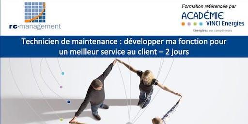 """Roissy / Formation """"Technicien de Maintenance: développer ma fonction pour un meilleur service au client"""" (VINCI Energies), 8 et 9 octobre 2019"""