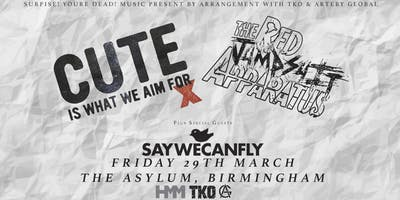 Cute Is What We Aim For & Red Jumpsuit Apparatus