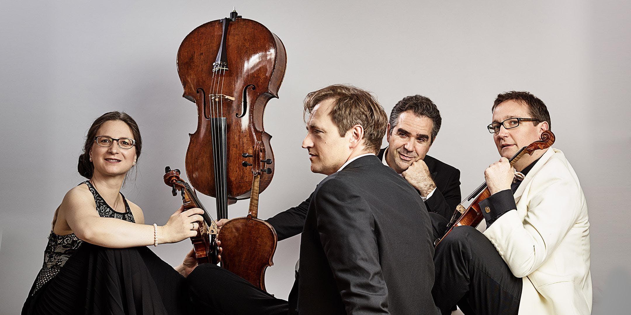 6. Streichquartett-Festival ICKINGER FRÜHLING 2019, Konzert 2: Kuss Quartett