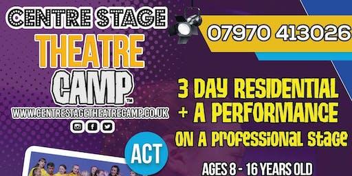 Centre Stage Theatre Camp 2019