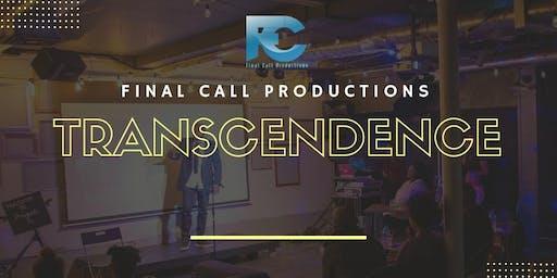 Transcendence Faith-Inspired & Inspirational Spoken Word Poetry Night
