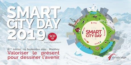 Smart City Day #6 - 2019, Monthey - Valoriser le présent pour dessiner l'avenir billets