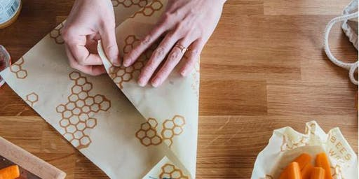 Reusable Wax Food Wraps Workshop