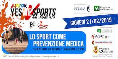 """""""Lo sport come prevenzione medica"""""""