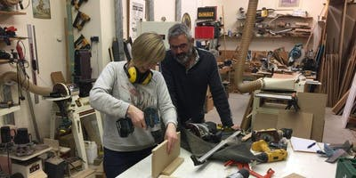 Woodwork project intermediate -Make a coffee table, 9am-5pm