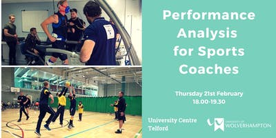 Performance Analysis for Sports Coaches Taster Ses