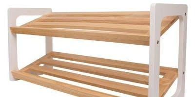 Intermediate+woodwork+-+Build+a+shoe+rack+to+