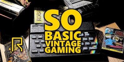 So BASIC Vintage Gaming