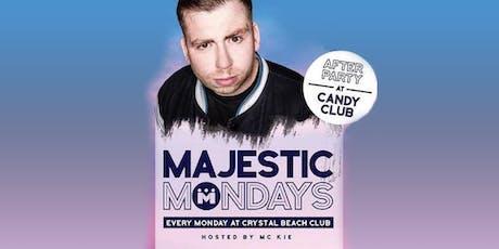 Majestic Mondays tickets