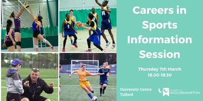 Careers in Sport Information Session