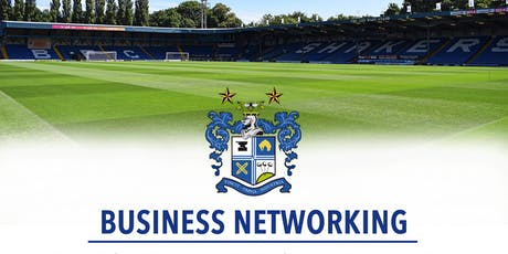 Bury FC Networking  tickets