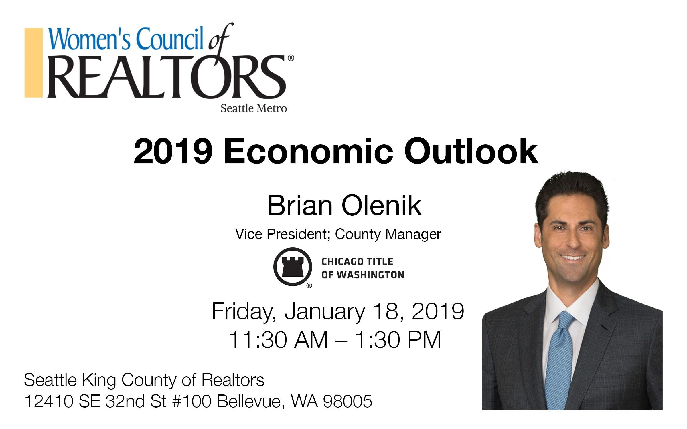 2019 Economic Outlook w/Chicago Title's Brian