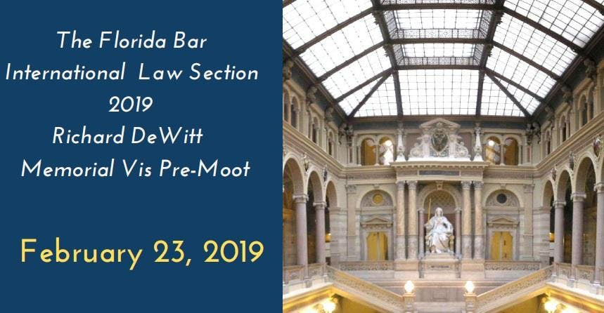 2019 FL Bar ILS Richard DeWitt Memorial Vis P