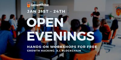 Open Evening Tuesday (Growth Hacking)