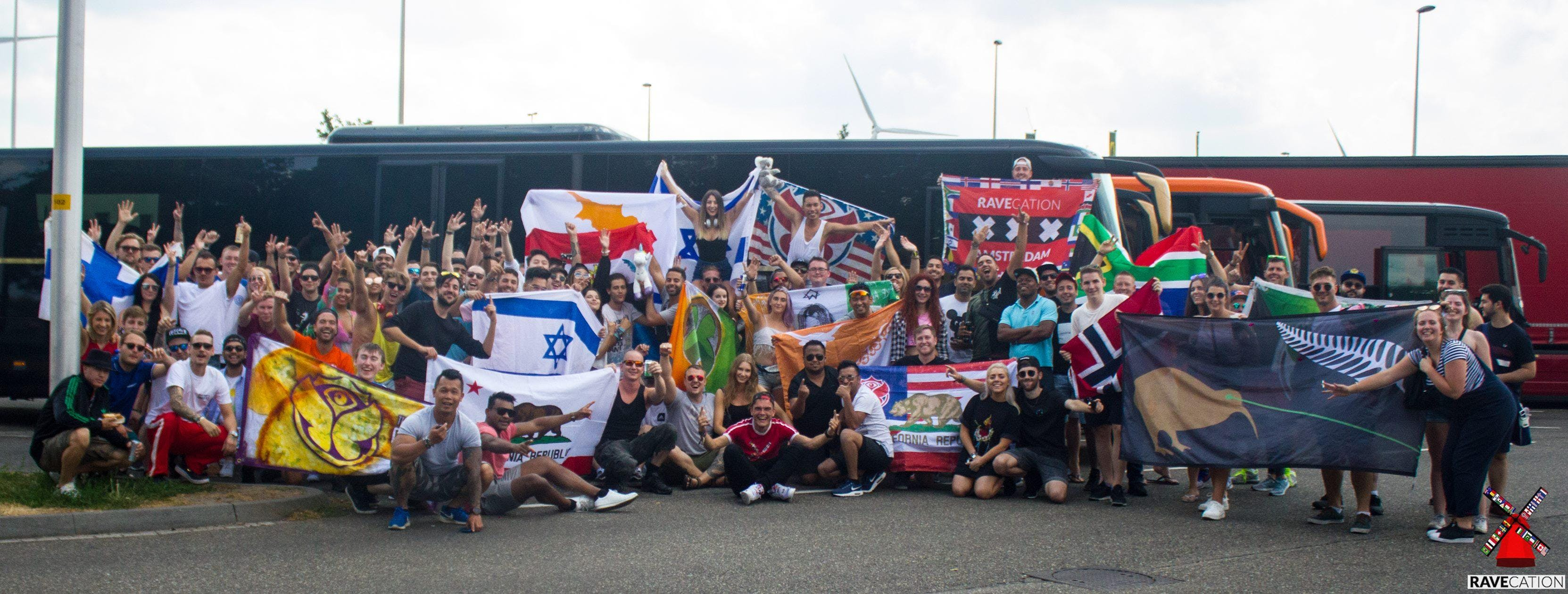 ASOT 900 Amsterdam Party Bus