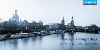 m-pathy UX Insight Days 2019