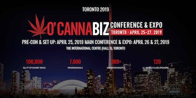 O'Cannabiz Conference & Expo - 3-Day- Event