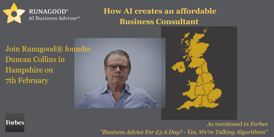 How AI creates an affordable Business Consultant in Hampshire