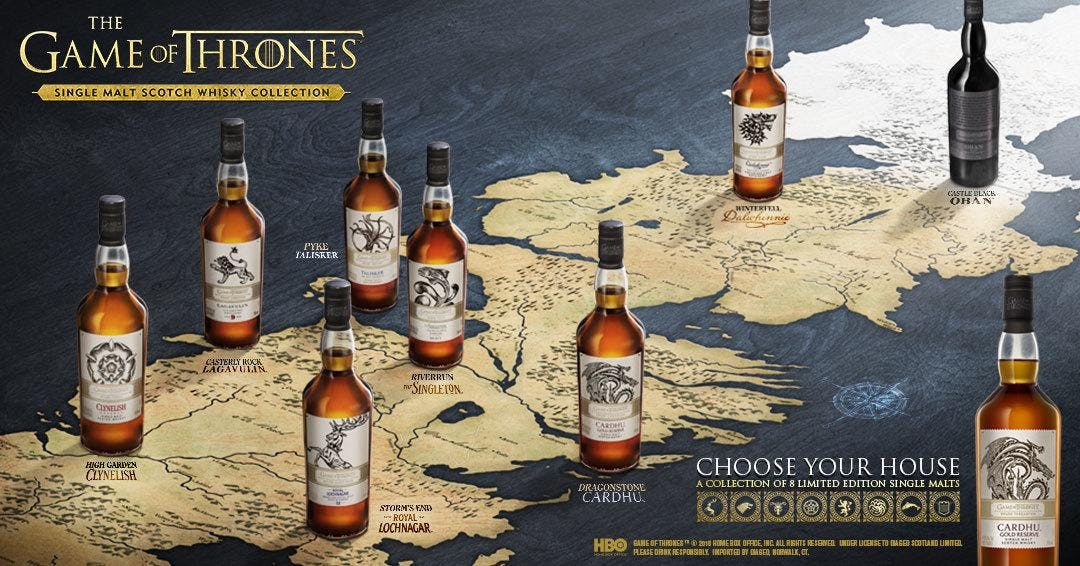 Game Of Thrones Single Malts with Stuart Brown (Wine and Beyond Windermere)