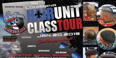 Louisiana Hair Unit Class Tour