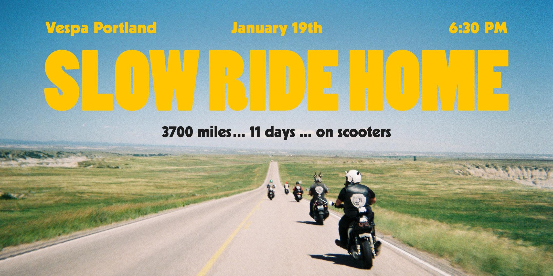 Slow Ride Home - Documentary Film Premiere
