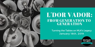 Turn the Tables on MLK's Legacy - A Shabbat Dinner & Conversation