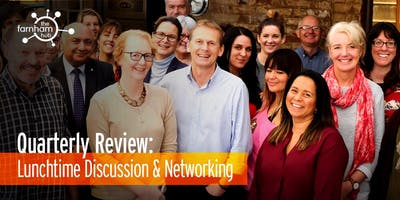 Quarterly Review & Networking Lunch