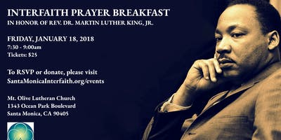 MLK Weekend Interfaith Prayer Breakfast