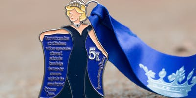 Now Only $8.00! Make a Difference Day 5K- Remembering Princess Diana- Alexandria