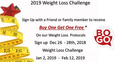 2019 Weight Loss Challenge - The Villages - December Wednesday 26 2018