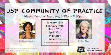 JSP Community of Practice tickets