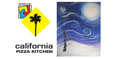 Fun - Painting & Pizza Event at California Pizza Kitchen.