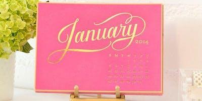 MakerSpace Workshop: Foil Printed Calendar