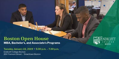 Endicott College Boston Open House