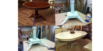 Upcycling+and+Upholstery+Day+Course+-+Dining+