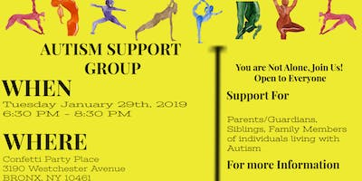 D3 Sports & Rec Autism Support Group - January