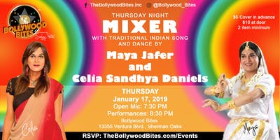 MIXER with LIVE Performances by Celia Sandhya Daniels &  Maya Jafer