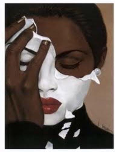 Image result for taking off a mask