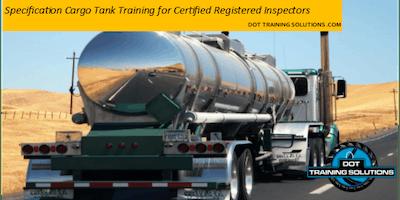 Cargo Tank Training for Certified Registered Inspectors, San Antonio, TX