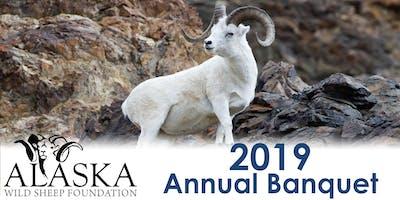 Alaska Wild Sheep Foundation 2019 Annual Banquet - Saturday, April 13, 2019