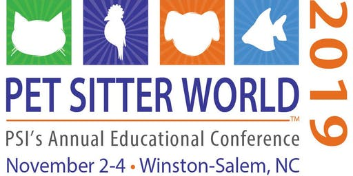 PSI's 2019 Pet Sitter World Educational Conference